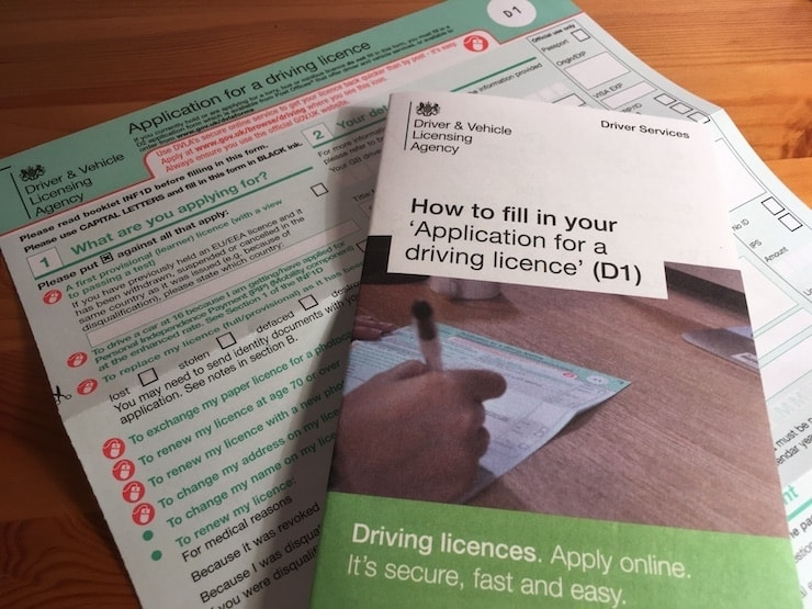 Apply for a provisional-licence